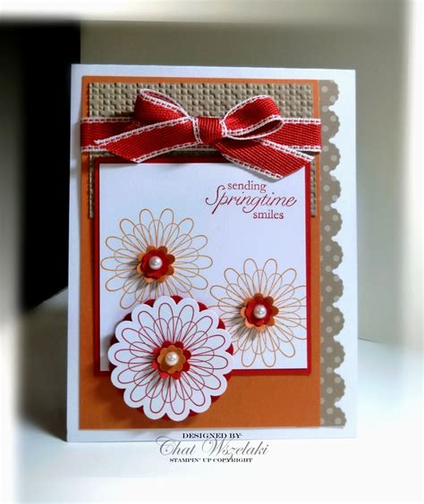 circle punches card 196 best cards scalloped circle ideas images on