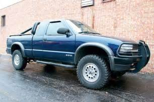 2001 chevy s 10 zr2 lift kit upping the ante