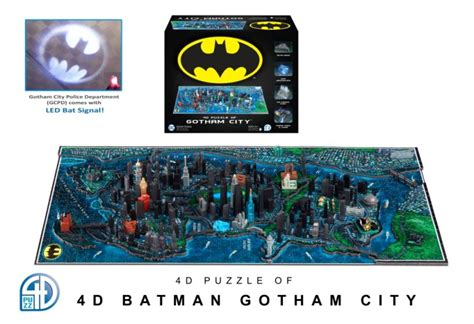 Figure Great Warriors 4d Puzzle European Crusader New 4d Cityscape Puzzles Batman Gotham City Lotr The