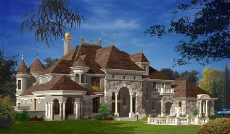 chateau style homes castle luxury house plans manors chateaux and palaces in