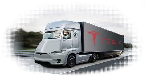 electric semi truck tesla all electric semi truck to deliver substantial