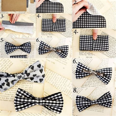 make your own bow tie why didn t i think of that