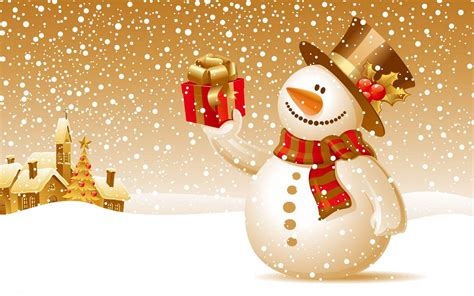themes za facebook wallpapers snowman backgrounds