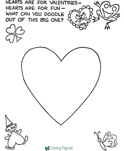 coloring page net valentine valentine 180 s day coloring pages