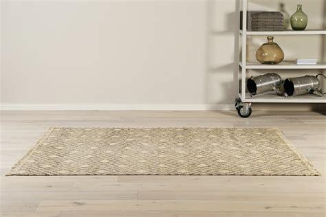handweb teppich 187 lyon 171 taupe beige kurzflorteppiche - Moderne Kurzflorteppiche