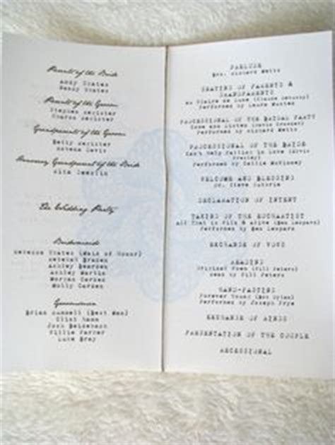 layout order of service wedding 1000 images about wedding order of service on pinterest