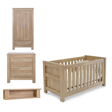 Nursery Bedroom Furniture Sets by Babystyle Bordeaux Nursery Furniture Set Cot Bed Wardrobe Dresser And Shelf Kiddicare