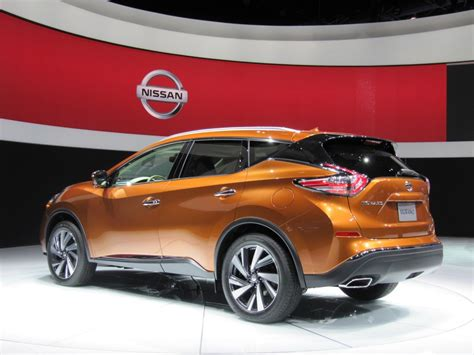 nissan car 2015 2015 nissan murano first look live photos