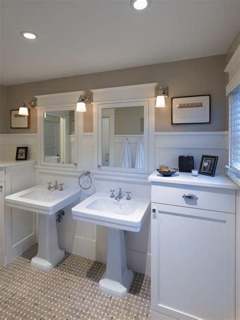 ideas  remodel  craftsman bathroom