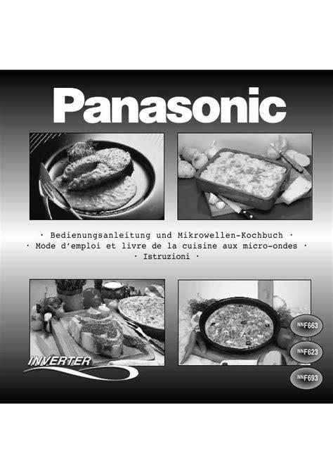 Plat 2 Panasonic Wehj6802 A Mode notice four micro onde panasonic nn f623 et pi 232 ces