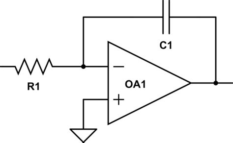 leaky integrator circuit signal processing a practical integrator that does not behave like a low pass filter