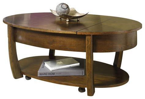 oval lift top coffee table concierge oval lift top cocktail table contemporary