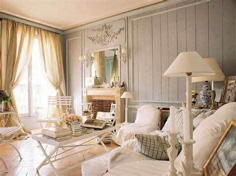 Chic Home Interiors | home decor shabby chic style living room ideas with white