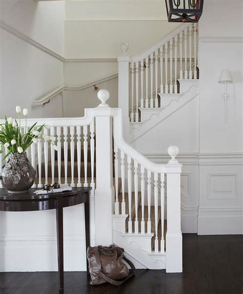 Stairway Banisters White Staircase Spindles Design Ideas