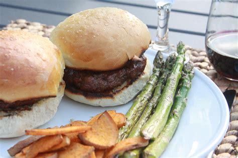 Handmade Burger Recipe - burger buns recipe dishmaps