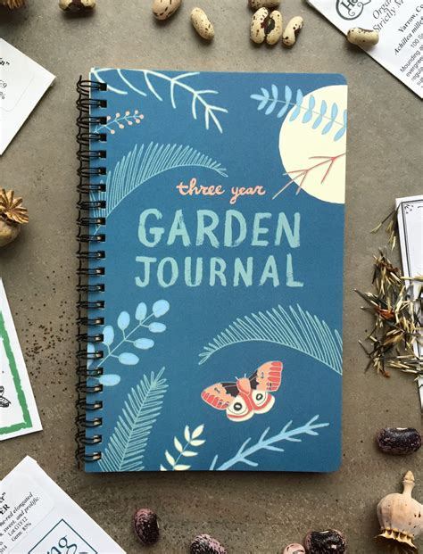 Garden Journal Garden Journal Three Year Daily Planner Gardening Gift For