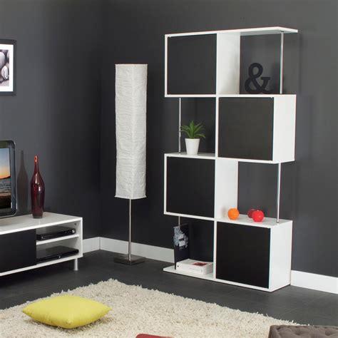 Design Ideas For Etagere Furniture Etag 232 Re Design Semi Ferm 233 E Coloris Blanc Noir Rosabelle Biblioth 232 Que Et 233 Tag 232 Re Moins Cher