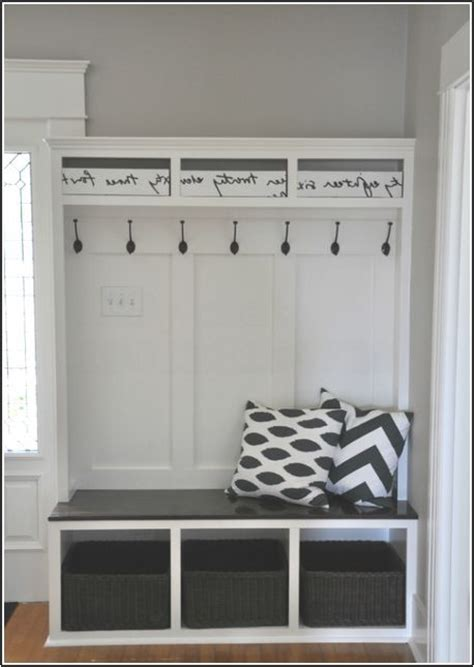 entryway bench and coat rack plans entryway storage bench with coat rack plans projects to