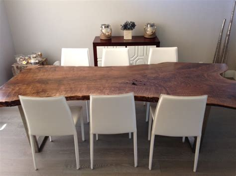 Live Edge Dining Room Table by Live Edge Table Live Edge Dining Table Walnut Dining