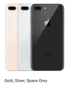 iphone 8 plus 256gb gold silver space grey screen size 5 5 rs 84900 unit id 16996038391