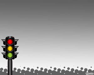 Car Lighting System Ppt Traffic Light System Powerpoint Template Free Powerpoint