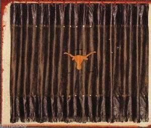longhorn shower curtain com western longhorn with barbwire shower curtain