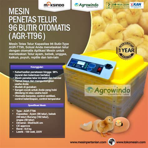 Mesin Tetas Telur Ayam Palembang jual mesin penetas telur manual 50 butir em 50 di
