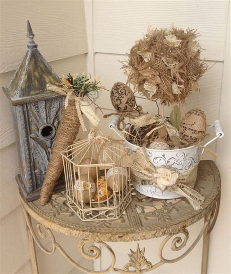 shabby chic easter decor easter pinterest