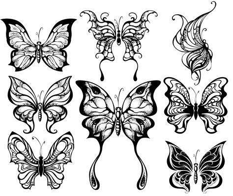 papillon tattoo coloriage papillons f 233 eriques butterflies to color