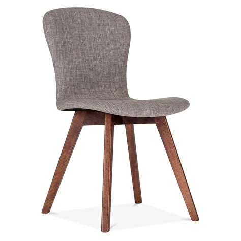 Cult living hudson upholstered dining chair in cool grey cult uk