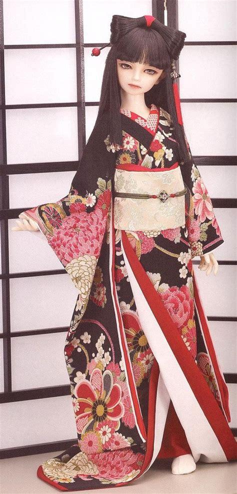Kimono Pattern Bjd | bjd pattern msd 1 4 chinese traditional japanese kimono