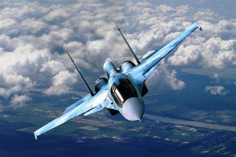Knalpot Efek Sukhoi Jet Tempur sukhoi su 34 fullback jet tempur multi peran buatan rusia