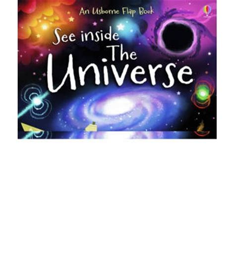 Usborne See Inside The Universe see inside the universe alex frith cosgrove 9781409563969