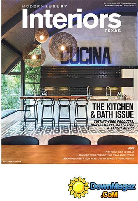 luxury interior design magazines modern luxury interiors fall winter 2015