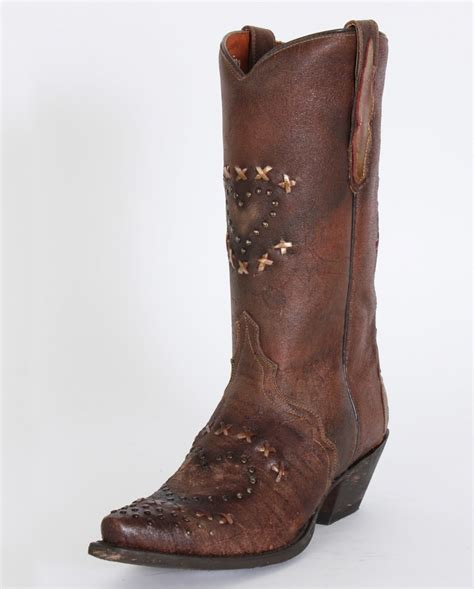 dan post 174 ladies shabby chic boots fort brands