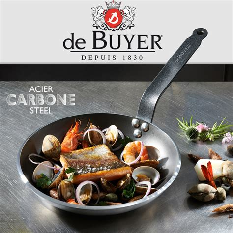 dei buyer de buyer carbone plus wok 35 cm aisa iron wok