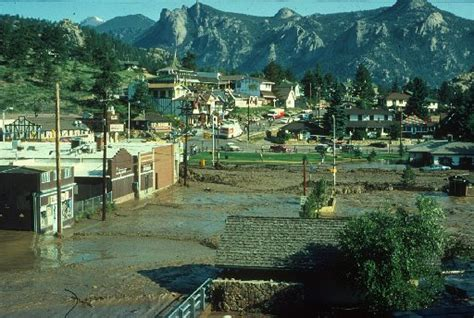 ecological effects of the lawn lake flood of 1982 rocky mountain national park classic reprint books 1982 flood changed downtown estes park loveland reporter