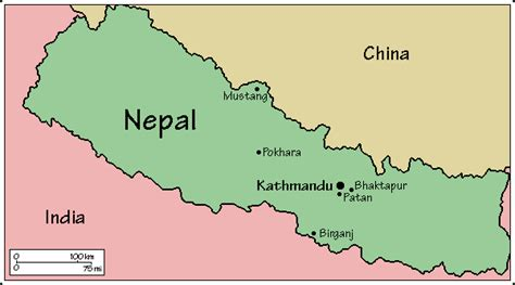 where is nepal on the map juliayunwonder kathmandu nepal map