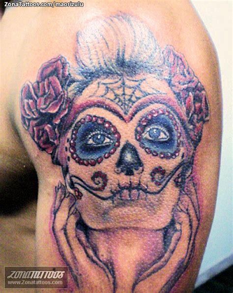 Imagenes Tatuajes Catrinas | pin tatuaje maorizulu catrinas on pinterest