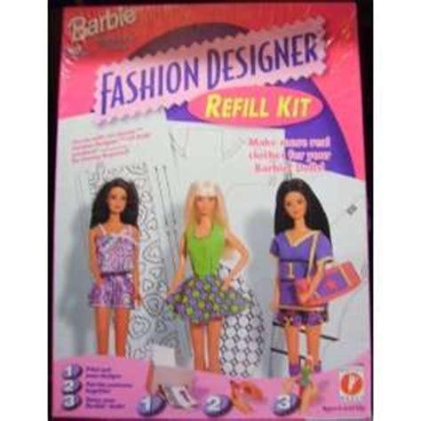 barbie fashion design maker refills barbie fashion design artist tote set fashion angels