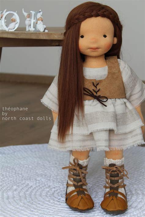 waldorf doll 1596 best poup 233 es de chiffons images on