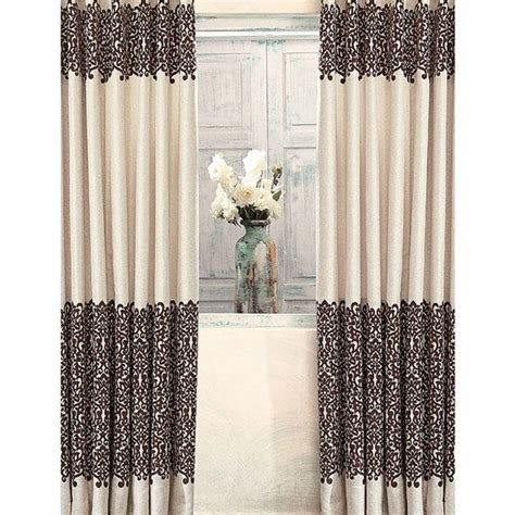 curtains brown and cream 17 best ideas about cream curtains on pinterest dining