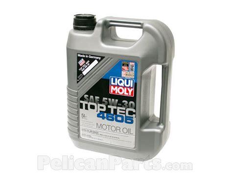 Liqui Moly Top Tec 4605 Dexos 2 5w 30 Sn 1 Liter Gasoline Diesel engine 2244 liqui moly top tec 4605 pelican parts