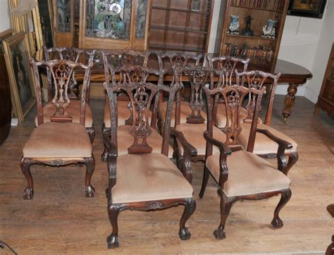 cherry esszimmer sets zum verkauf dining table set chippendale chairs set suite