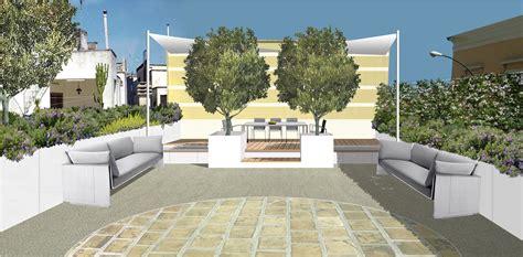 progettare terrazzo arredare un terrazzo con confini e barriere naturali