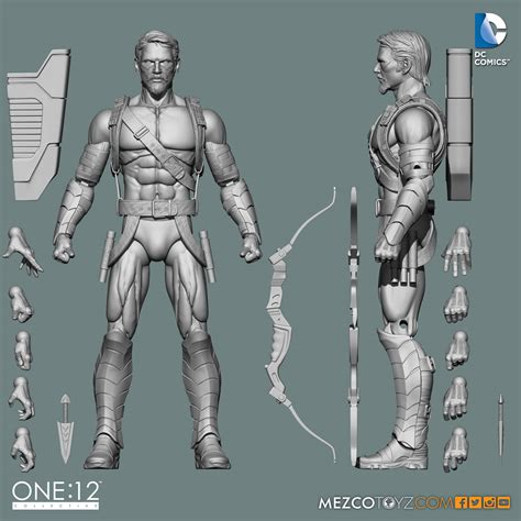Green Arrow 12 mezco the of their one 12 collective green