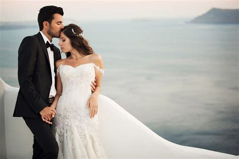 santorini wedding photographer vangelis athens greece - Bridal Wedding Photography