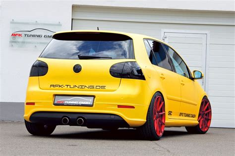 Auto Tuning Golf 5 by Rfk Vw Golf 5 R32 Neuer Player Im Goldrausch Speed Heads