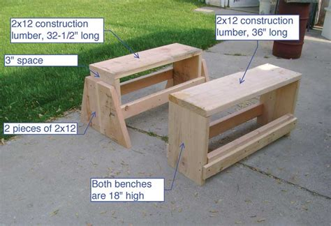 saw horse work bench chad s sawhorse workbench popular woodworking magazine