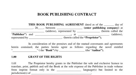 The Foreign Writer S Guide To Publishing House Contract Requirements Rin Chupeco Publishing Contract Template